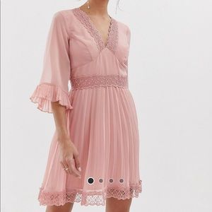 NWT - pink ASOS dress